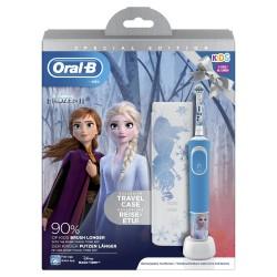 ORAL-B Cepillo Eléctrico Kids Frozen + Funda de Viaje