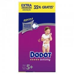 DODOT Pañales Activity Extra Box Talla 5 (96 Unidades)
