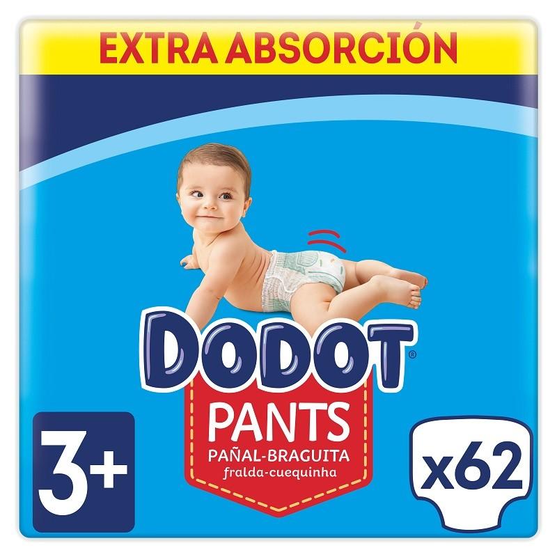 DODOT Pañales Pants Talla 3 x62 Unidades