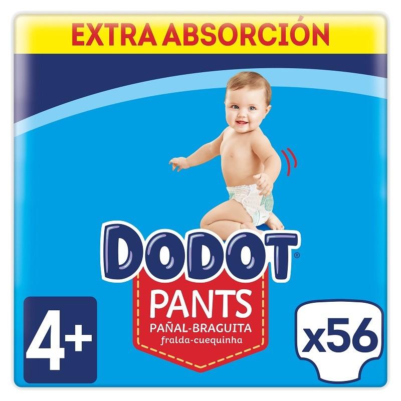 DODOT Pañales Pants Talla 4 x56 Unidades