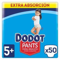 DODOT Pañales Pants Talla 5 x50 Unidades