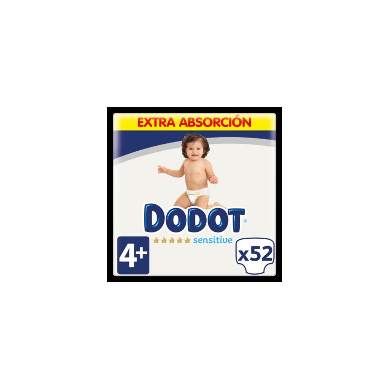 DODOT Pañales Sensitive Talla 4 x52 Unidades
