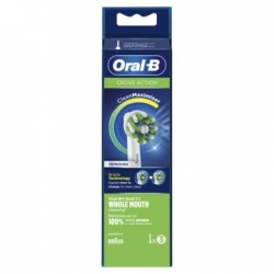 ORAL-B CrossAction Recambio con CleanMaximiser 3 Cabezales