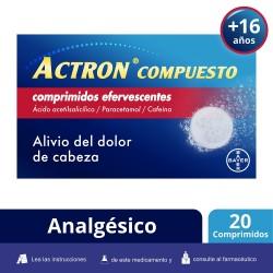 ACTRON Compuesto 20 Comprimidos Efervescentes