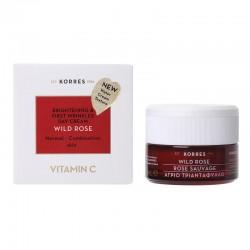 KORRES Crema de Día con Vitamina C Rosa Salvaje Piel Normal/Mixta 40ml