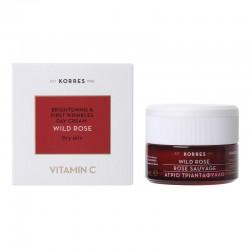 KORRES Crema de Día con Vitamina C Rosa Salvaje Piel Seca 40ml
