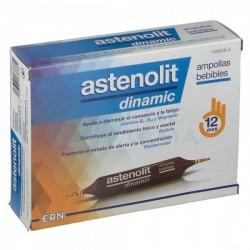 ASTENOLIT Dinamic Ampollas Bebibles 12x10ml
