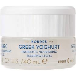 KORRES Crema de Noche Yogur Griego con Probióticos 40ml