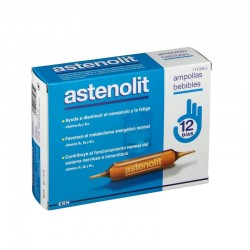 ASTENOLIT Ampollas Bebibles 12x10ml