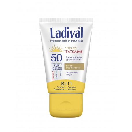 LADIVAL Pieles Tatuadas FPS 50+ 75ML