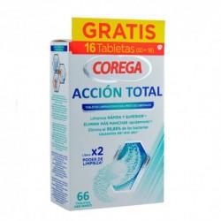 COREGA Acción Total Limpieza para Prótesis x66 Tabletas
