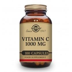 SOLGAR Vitamina C 1000mg 100 Cápsulas Vegetales