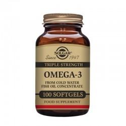 SOLGAR Omega-3 Triple Concentración 100 Cápsulas Blandas