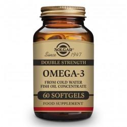 SOLGAR Omega-3 Alta Concentración 60 Cápsulas Blandas