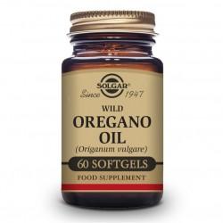 SOLGAR Aceite de Orégano Silvestre (Origanum Vulgare) 60 Cápsulas Blandas