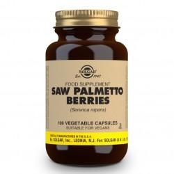 SOLGAR Sabal Extracto de Baya Saw Palmetto (Serenoa Repens) 100 Cápsulas Vegetales