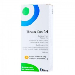 THEALOZ Duo Gel 30x0,4g Unidosis