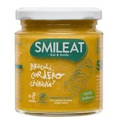 SMILEAT Potito Ecológico Brócoli, Cordero y Chirivía 230g