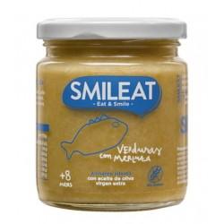 SMILEAT Potito Ecológico Verduras con Merluza 230g