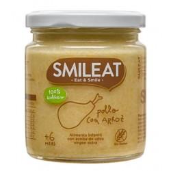 SMILEAT Potito Ecológico Pollo con Arroz 230g