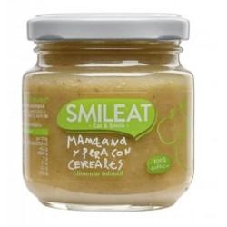 SMILEAT Potito Ecológico Manzana y Pera con Cereales 130g