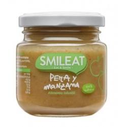 SMILEAT Potito Ecológico Pera y Manzana 130g