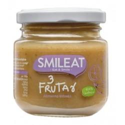 SMILEAT Potito Ecológico Tres Frutas 130g