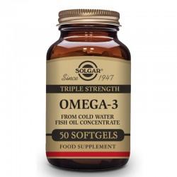 SOLGAR Omega-3 Triple Concentración 50 Cápsulas Blandas