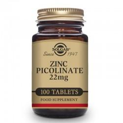 SOLGAR Zinc Picolinato 22mg 100 comprimidos
