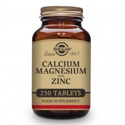 SOLGAR Calcio y Magnesio con Zinc 250 comprimidos