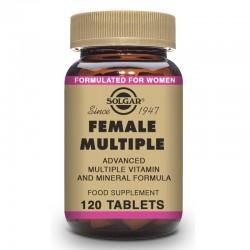 SOLGAR Female Multiple Complemento para la Mujer 120 Comprimidos