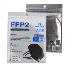 MASCARILLA FFP2 con Certificado CE Negra BFE 94% NR - 1 MI STORE