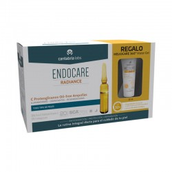 ENDOCARE Radiance C Proteoglicanos Oil Free Ampollas 30x2ml + HELIOCARE 360º Water Gel 15ml