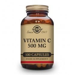 SOLGAR Vitamina C 500mg 100 Cápsulas Vegetales