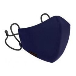 Mascarilla Higiénica R40 PRO Reutilizable y Lavable 100% Algodón Ecológico Color Azul Oscuro Adultos