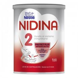NIDINA 2 Leche de Continuación para Lactantes 800g