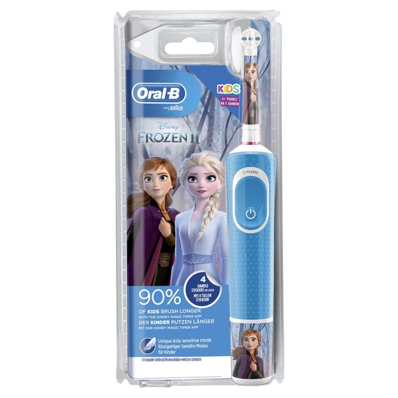 ORAL-B Kids Cepillo Eléctrico Frozen + Stickers