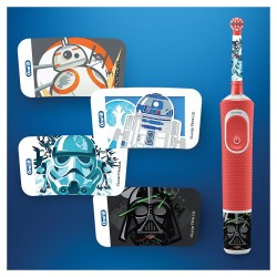 ORAL-B Kids Cepillo Eléctrico Star Wars +  Stickers