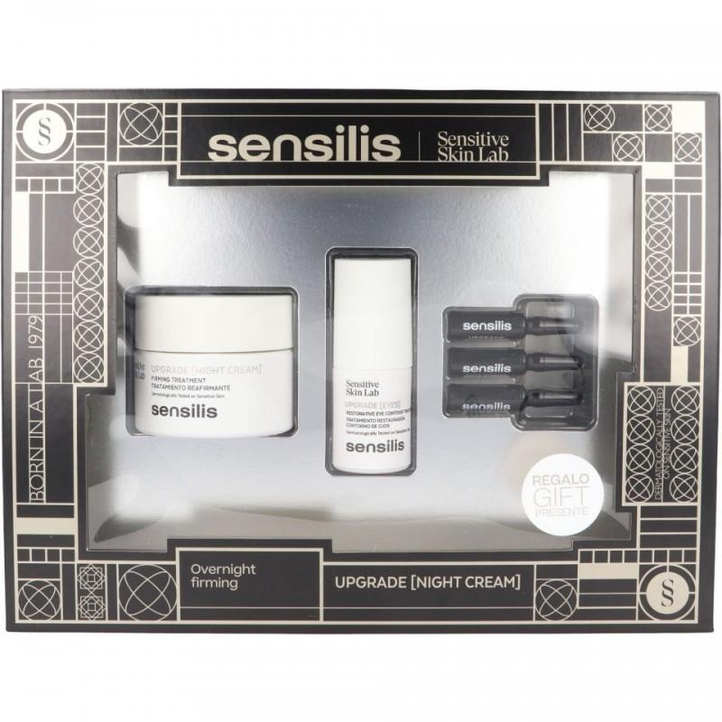 SENSILIS Cofre Upgrade: Crema de Noche + Contorno de Ojos + 3 Ampollas
