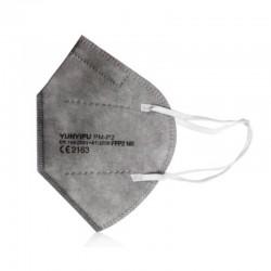 MASCARILLA FFP2 con Certificado CE color Gris BFE 95% NR 1 mascarilla