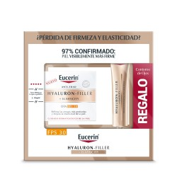 EUCERIN Hyaluron-Filler Elasticity Pack Crema Día FPS 30 + Contorno de Ojos de REGALO