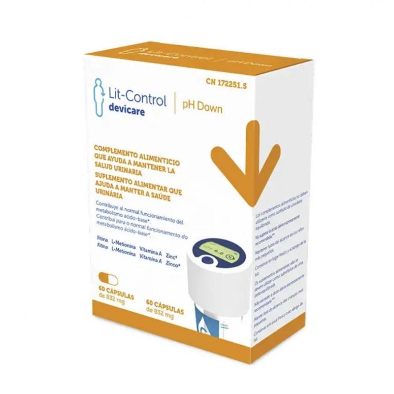 LIT-CONTROL pH Down x60 Cápsulas