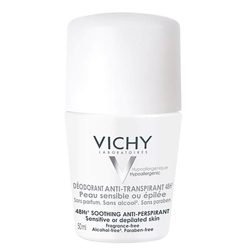 VICHY Desodorante Anti-Transpirante 48h Roll-On 50ml