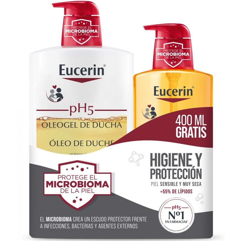 EUCERIN pH5 Oleogel de Ducha 1000ml + 400ml GRATIS