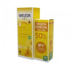 WELEDA Crema Pañal de Caléndula Bebé 75ml + 30ml (50% DTO OFERTA ESPECIAL)