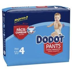 DODOT Pants Talla 4 (9-15 Kg) 33 unidades