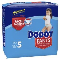 DODOT Pants Talla 5 (12-17 Kg) 30 unidades