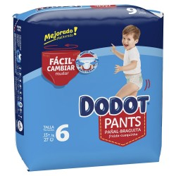 DODOT Pants Talla 6 (+15 Kg) 27 unidades