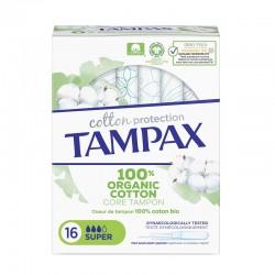 TAMPAX Organic Cotton Super Tampones 16 Unidades
