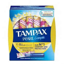 TAMPAX Pearl Compak Regular Tampones 16 Unidades